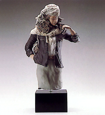 Young Lady With Parasol ( Lladro Figurine
