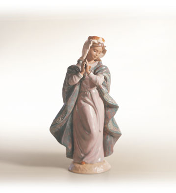 Young Mary Lladro Figurine