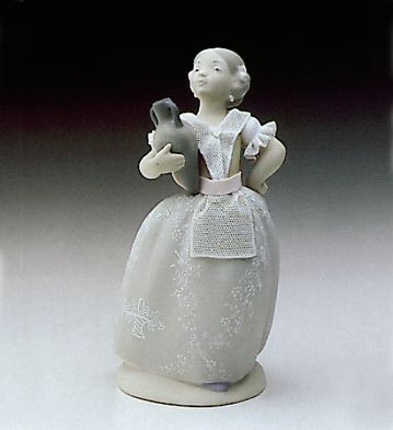 Young Valencian Girl Lladro Figurine