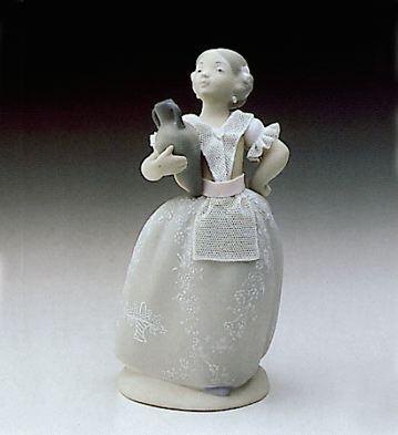 Young Valencian Girl Lladro Figurine