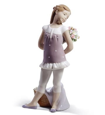 Your Favorite Flowers! Lladro Figurine